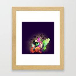 λóγος. Framed Art Print