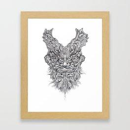 Batbloke Framed Art Print