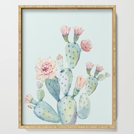 Cactus 2 #society6 #buyart Serving Tray