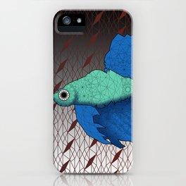 Beta Fish - Panel B iPhone Case