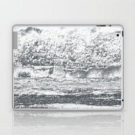 Abstract black ad white texture Laptop & iPad Skin