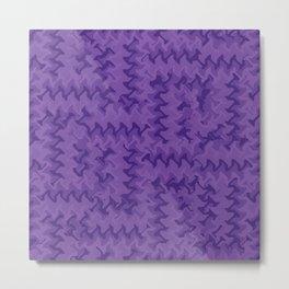 Color Purple Metal Print