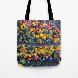 The Autumn Forest (Color) Tote Bag