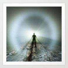Shadow in Fog Art Print