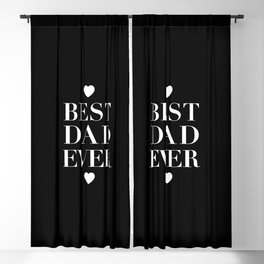 Best Dad Ever Blackout Curtain