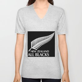 All Blacks Unisex V-Neck