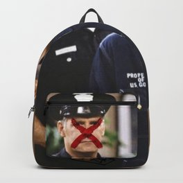 """""""THEY"""" SEEK TO DESTROY THE KING IN U.S. Backpack"""
