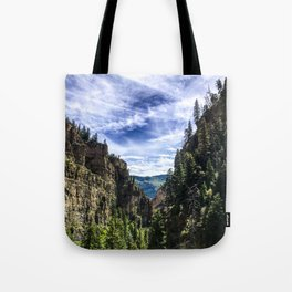 Hanging Lake Trail Tote Bag