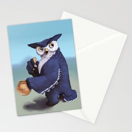 Monster of the week: Tufted Owl Beast Stationery Cards