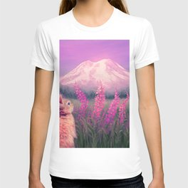 Sunset on Mount Rainier T-shirt