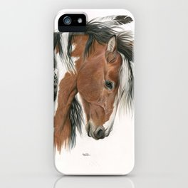 Spirit of the Horse iPhone Case