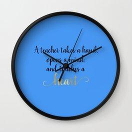 Teacher Gifts Wall Clock