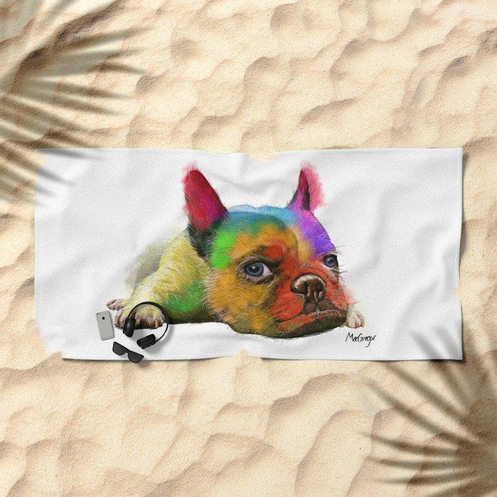 No Bull Beach Towel