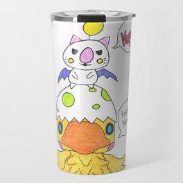 Moogle and Chocochick Travel Mug