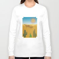 desert Long Sleeve T-shirts featuring Desert by Loop in the mind