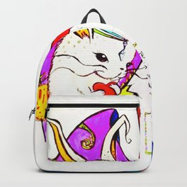 Breathe it's Ok! Some Bunny Loves You! Backpack