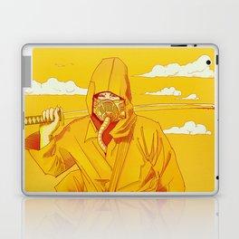 Yellow Samurai Laptop & iPad Skin