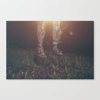 legs Canvas Prints featuring Legs by Imustbedead
