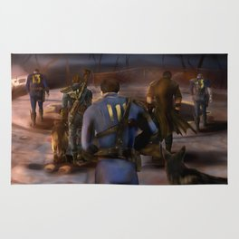 Fallout Tribute Rug