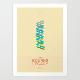 The Bourne Legacy - Minimal Poster Art Print