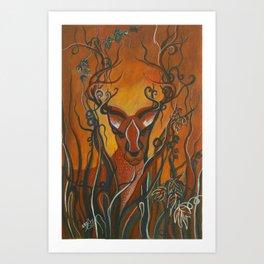Whimsical Creatures 4 Art Print