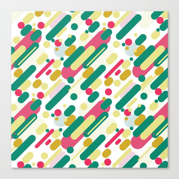 Bubble Pop Anza Evergreen Canvas Print