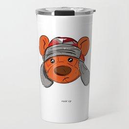 Bino and The Bear (Childish Gambino v3005 Tribute) Travel Mug