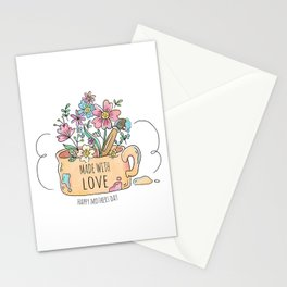 Happy Mother's Day - Made with Love -  Stationery Cards