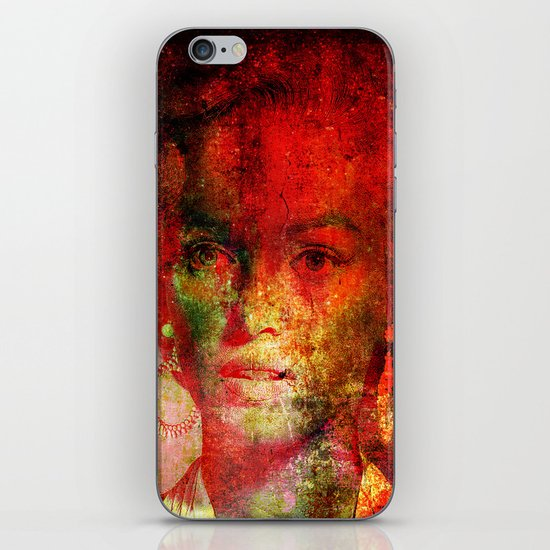 Marilyne behind the mirror iPhone & iPod Skin