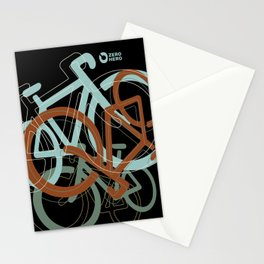 mix of bikes_01 Stationery Cards