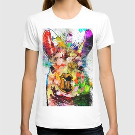Llama Grunge T-shirt