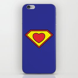 SUPER HEART iPhone Skin