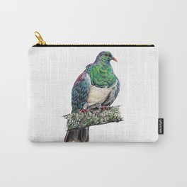New Zealand Wood Pigeon Carry-All Pouch
