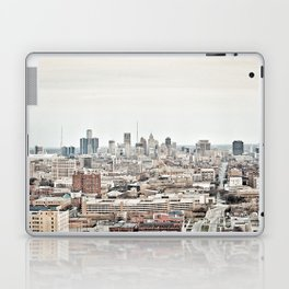 Downtown Detroit Skyline View from New Center Laptop & iPad Skin