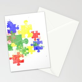 Autism Pieces Stationery Cards