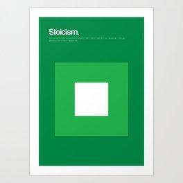 Stoicism Art Print