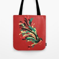 window Tote Bags featuring Avian by Jay Fleck
