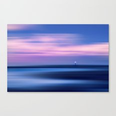 A sadness deep inside your fate Canvas Print