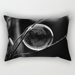Captured Galaxy in B&W Rectangular Pillow