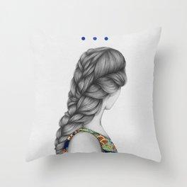 Strands I Throw Pillow