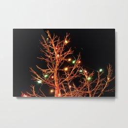 Holiday Lights Metal Print