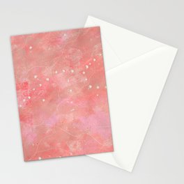Pearly Pink Stationery Cards