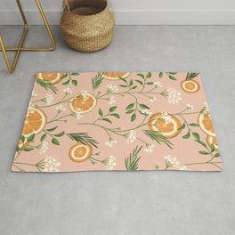 Elderflower & Oranges - Pastel Rug