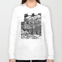 copenhagen Long Sleeve T-shirts featuring Copenhagen by intermittentdreamscapes