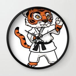 TAEKWONDO gift boxing martial arts Kickboxer Ko Wall Clock