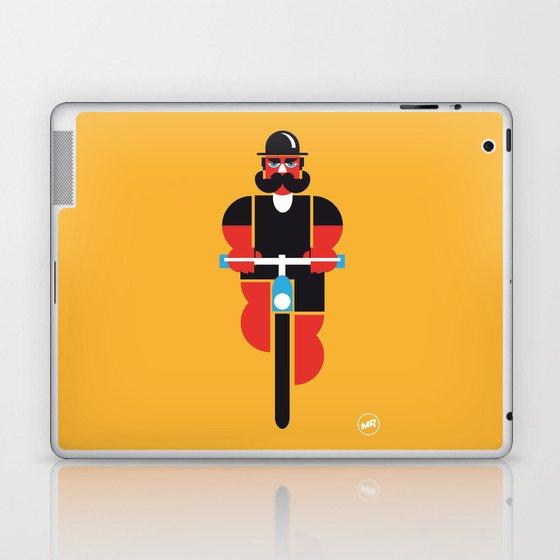 Bicycle Man Laptop & iPad Skin