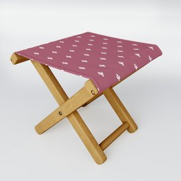 Cactus Pattern Folding Stool