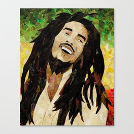 Marley Collage Canvas Print