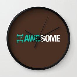 AWDSOME v3 HQvector Wall Clock