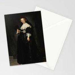 Oopjen Coppit - Rembrandt van Rijn (1634) Stationery Cards